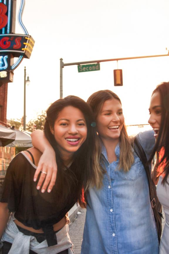 Girls Night on Beale | David Meany