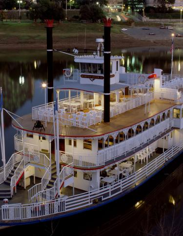 Memphis Riverboat on the Mississippi. Photo Credit: Memphis Riverboats, Inc.