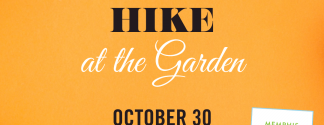 HalloweenHike at the garden