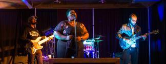 Singer at Old Dominick Distillery / Craig Thompson