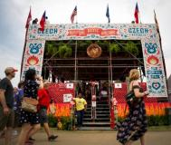 Stage at Memphis in May Festival