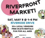 graphic for riverfront market