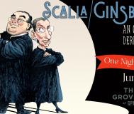 Scalia/Ginsburg OM @ The Grove
