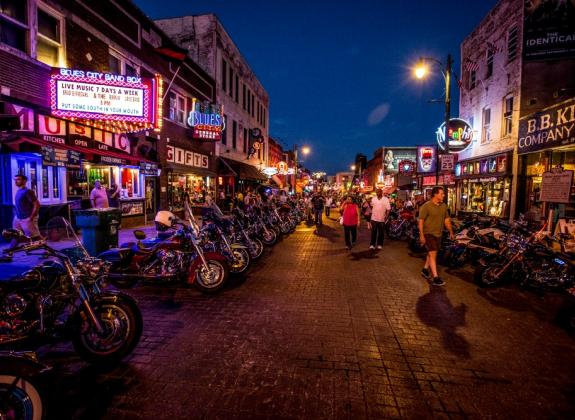 Bike Night on Beale Street: Craig Thompson