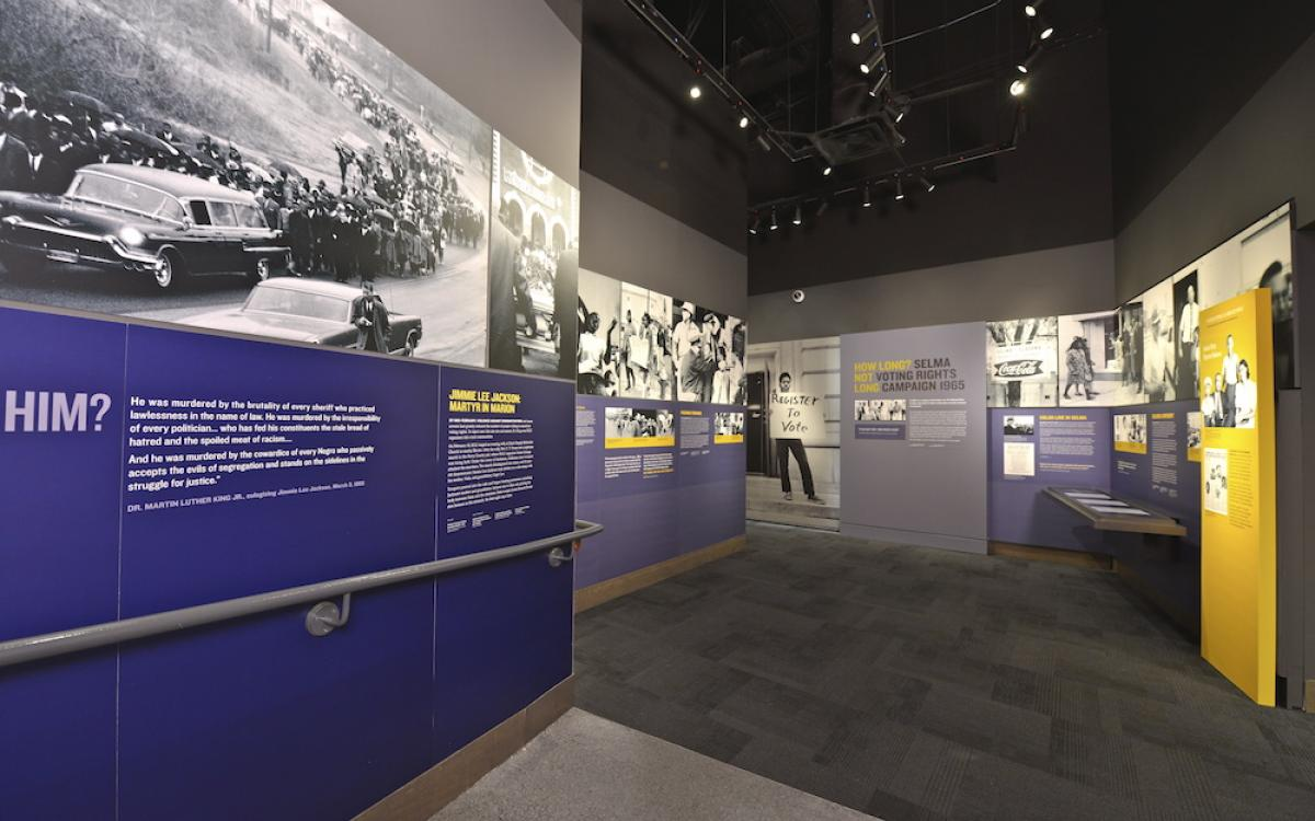 Selma Exhibit at National Civil Rights Museum