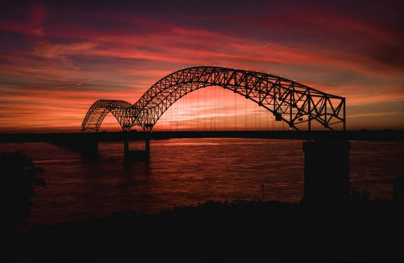 Hernando De Soto Bridge, Memphis | Connor Ryan