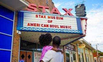 Family at the Stax Museum