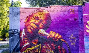 B.B. King Mural / Craig Thompson