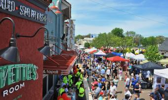 Overton Square Crawfish Festival. Photo Credit: Andrea Zucker