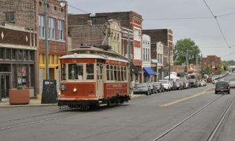Memphis Trolley on South Main